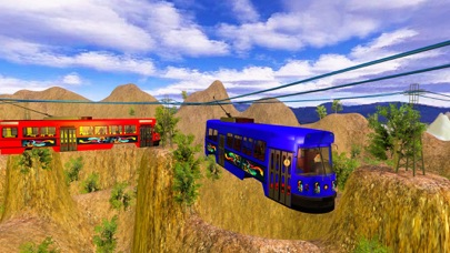 Down Hill Tramway Flying Car Screenshot