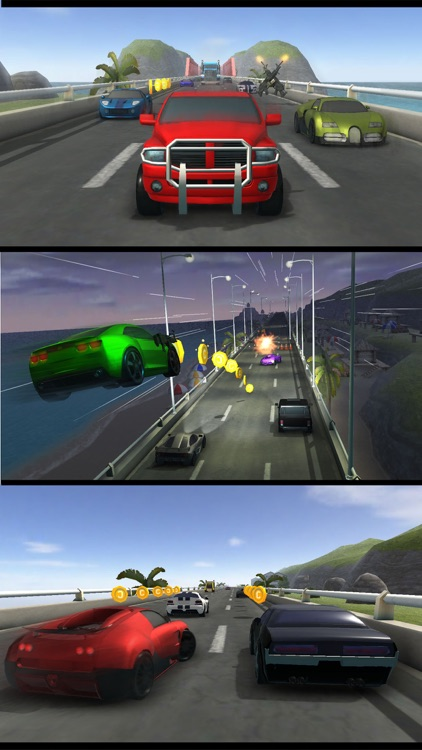 السباق - لعبة سيارات السرعة screenshot-3