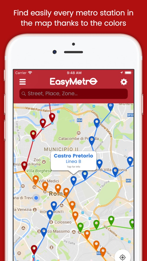 EasyMetro Italy App 截图