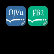 DjVu and FB2 reader package