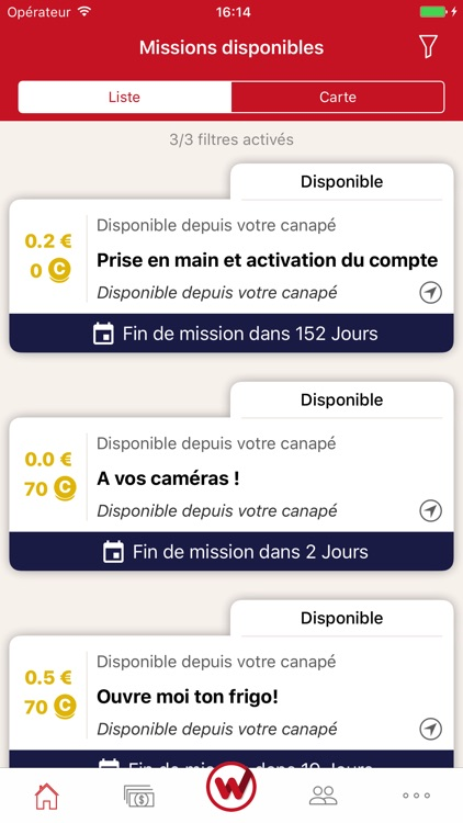 Clic and Walk Gagnez des euros screenshot-0