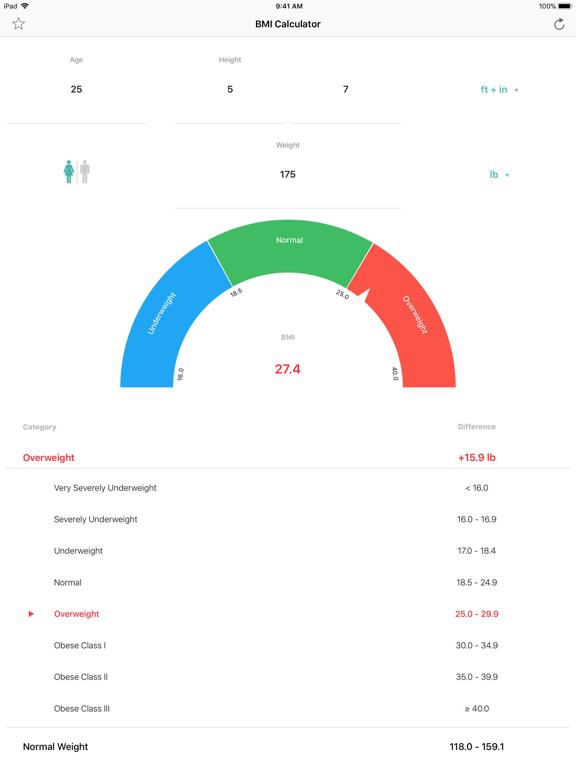 BMI Calculator – Pro screenshot 5
