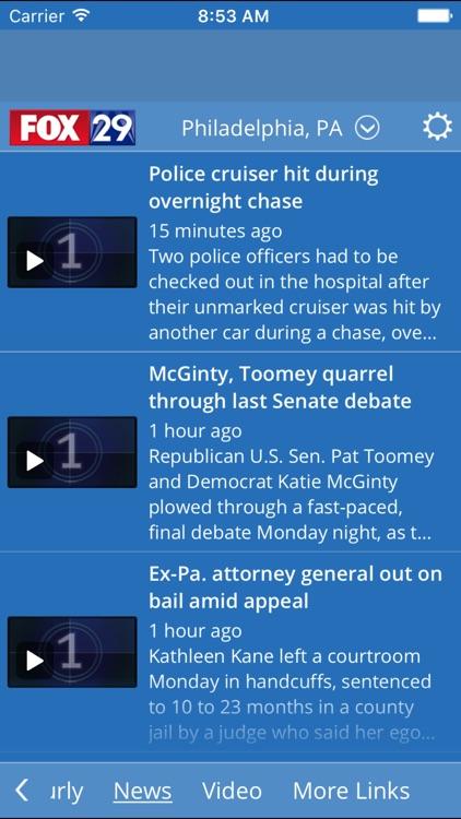 FOX 29 WEATHER AUTHORITY screenshot-3