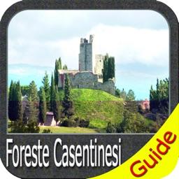 Foreste Casentinesi Campigna National Park GPS Map
