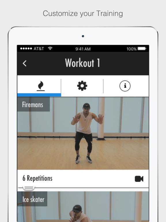 Parkour Plyo-Strength Athletic Training screenshot