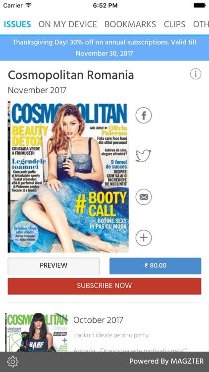 Cosmopolitan Romania Magazine