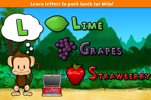 Monkey Preschool Lunchbox screenshot 1