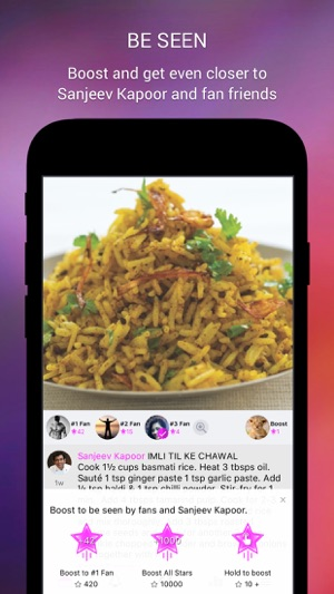 Sanjeev kapoor official app on the app store iphone screenshots forumfinder Choice Image