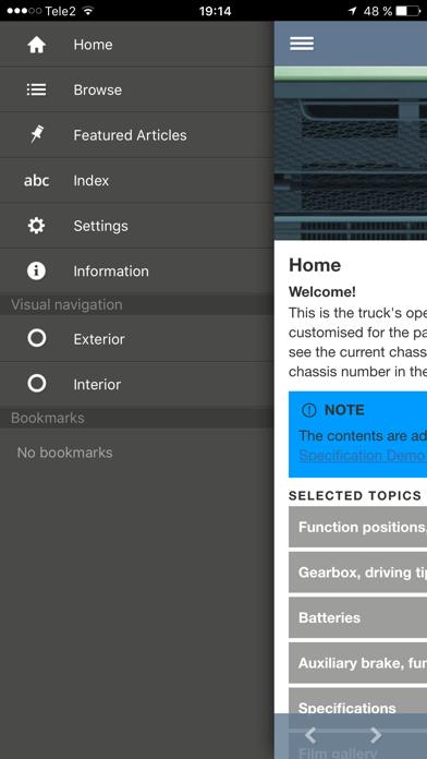 Volvo Trucks Driver's Handbook screenshot two