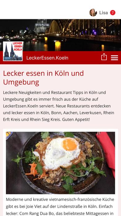 LeckerEssen.Koeln screenshot one
