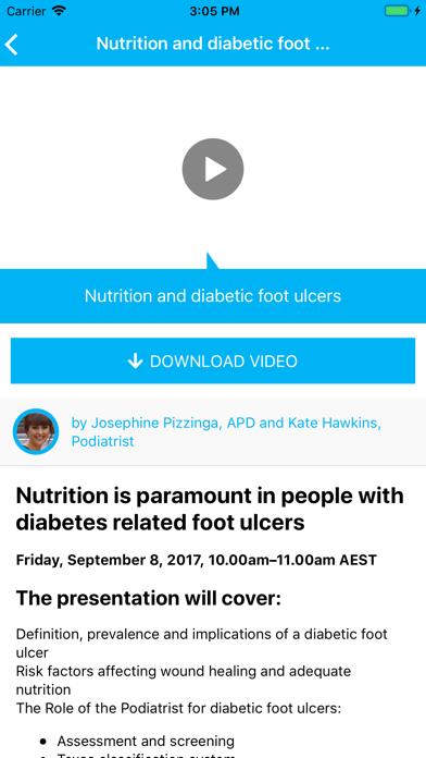 Education in Nutrition Listen screenshot three