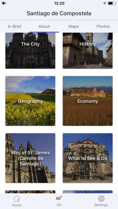 サンティアゴ・デ・コンポステーラ 旅行 ガイド &マップのスクリーンショット3