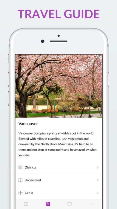 Vancouver Offline Map & Guide screenshot two
