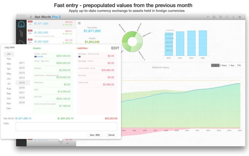 Net Worth Pro 2 Screenshots