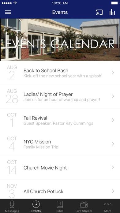 First Baptist Church Vidalia screenshot 2