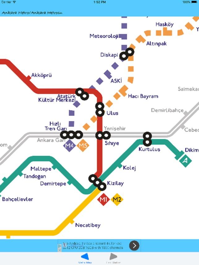 Metro Ankara on the App Store