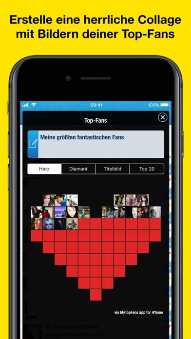 MyTopFans - Social TrackerScreenshot von 3