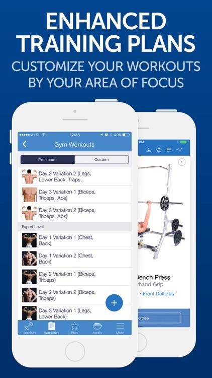 Fitness Buddy: Gym Workouts screenshot-4