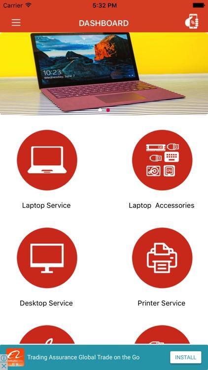 Laptop Repair App