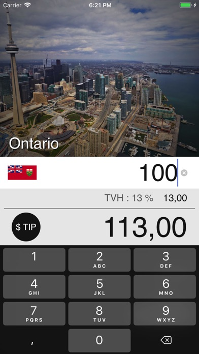 download Taxes de Vente au Canada apps 2