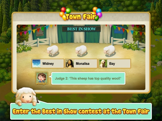 Tiny Sheep : Pet Sim on a Farm Скриншоты10