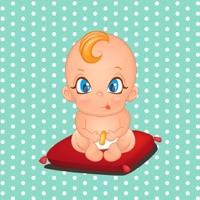 cute little baby boy and girl emoji stickers app app store