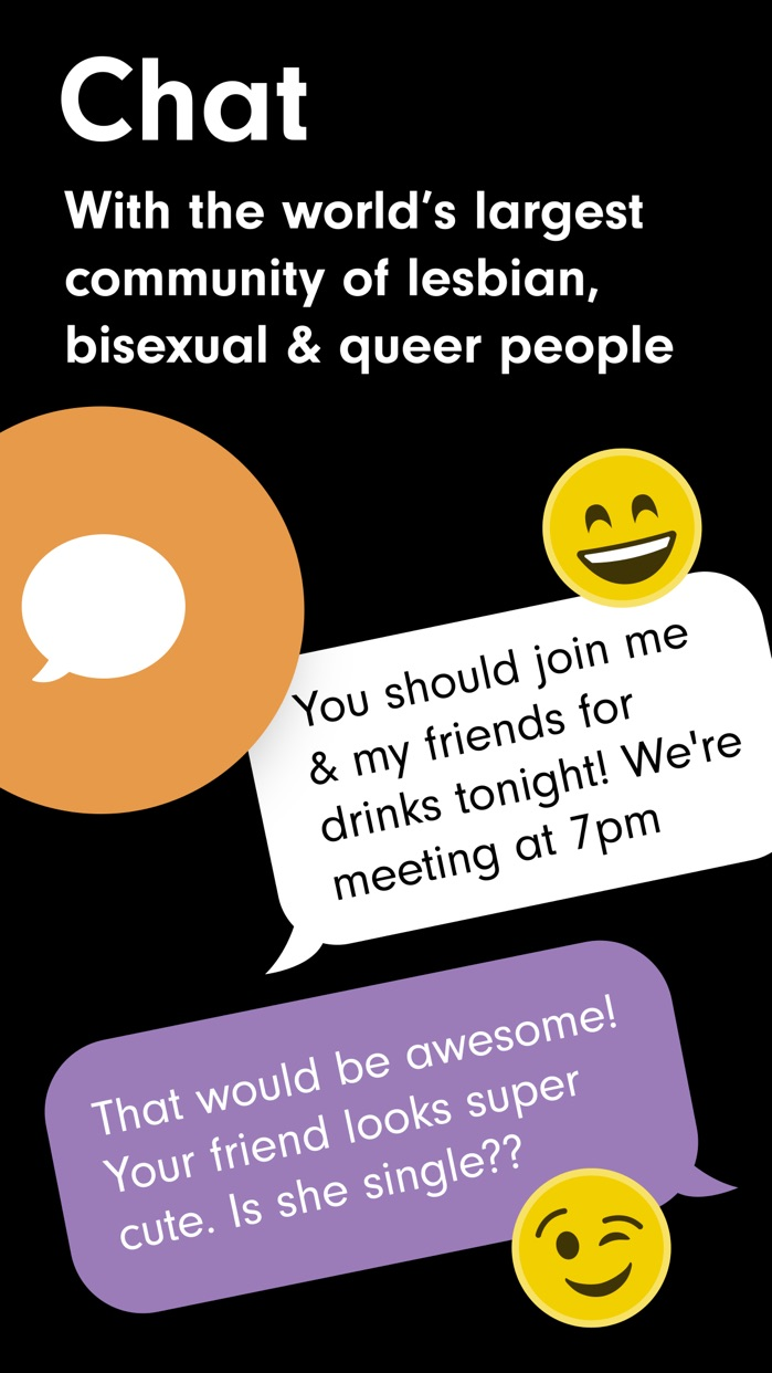 HER lesbian dating & queer app Screenshot