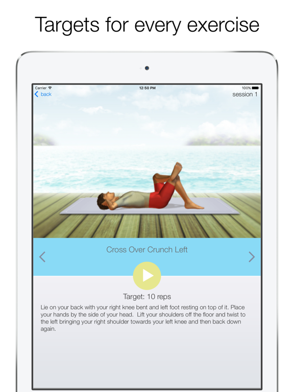 Quick Abs Workout-ipad-1