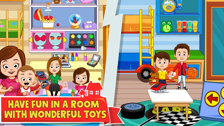 My Town : Home Family Doll House