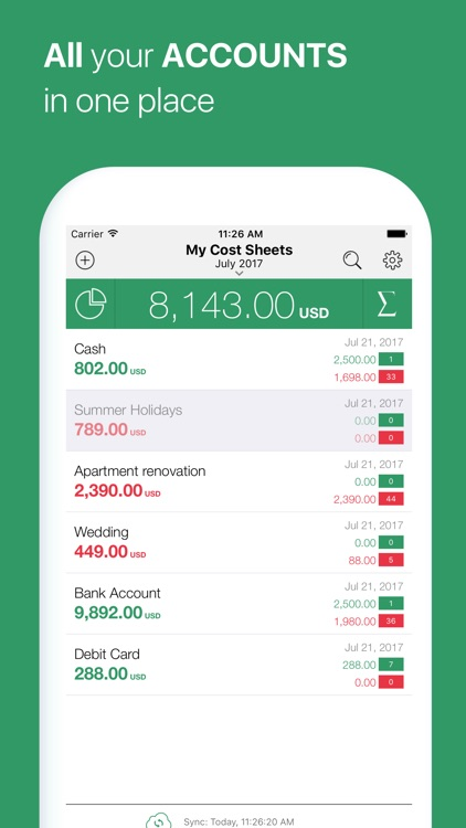 Cost Track - Expense Tracker screenshot-3