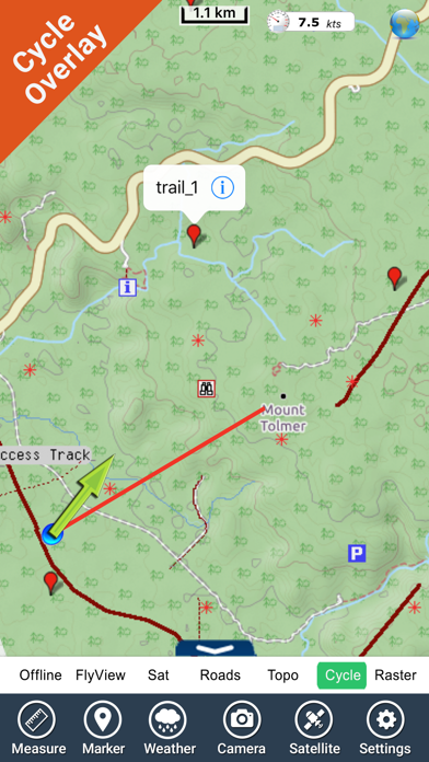 Litchfield NP - GPS and outdoor map with guide screenshot three