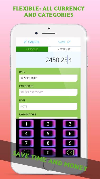 Pocket Expenses Tracker