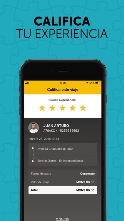 Yaxi Easy - App de transporte screenshot-4