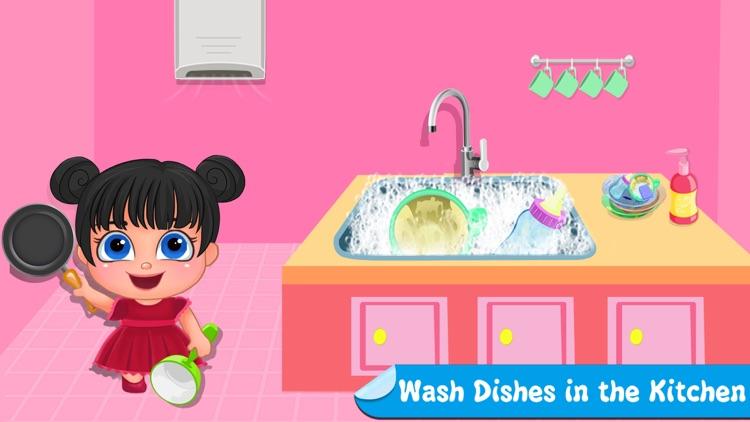 Little Girl Cleanup Adventure screenshot-4