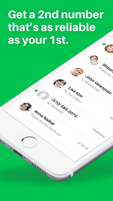 Sideline - Second Phone Number app image