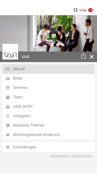 VAIR screenshot 2