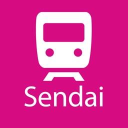 Sendai Rail Map Lite