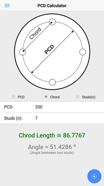 Pcd And Chord Calculator By Vishal Prajapati