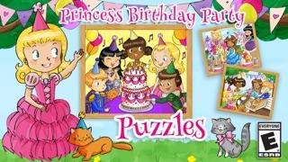 給孩子的公主生日派對拼圖屏幕截圖1