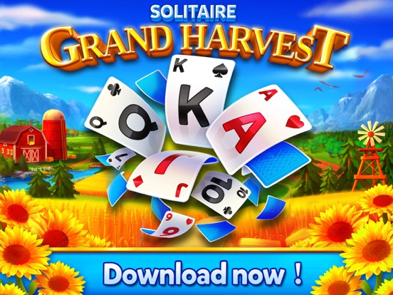 Solitaire - Grand Harvest screenshot #4