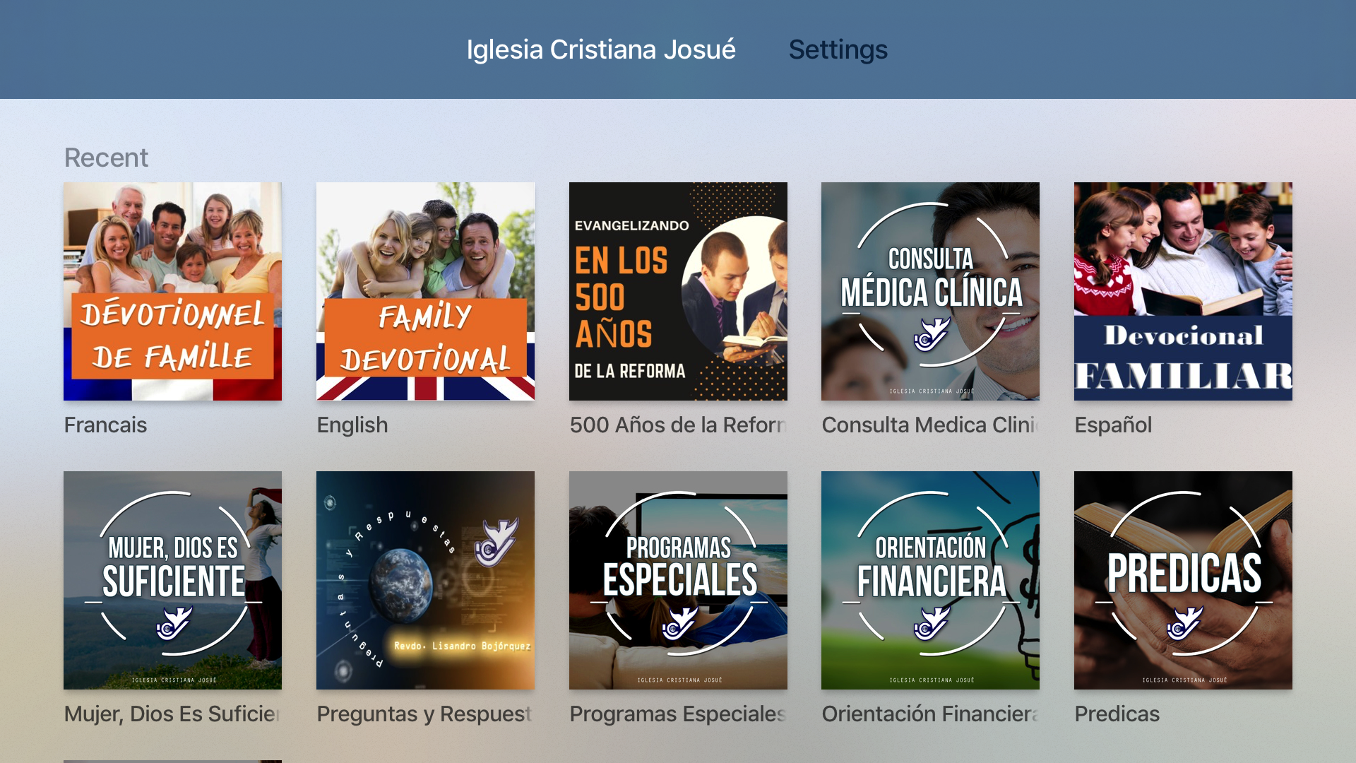 Iglesia Cristiana Josué screenshot 7