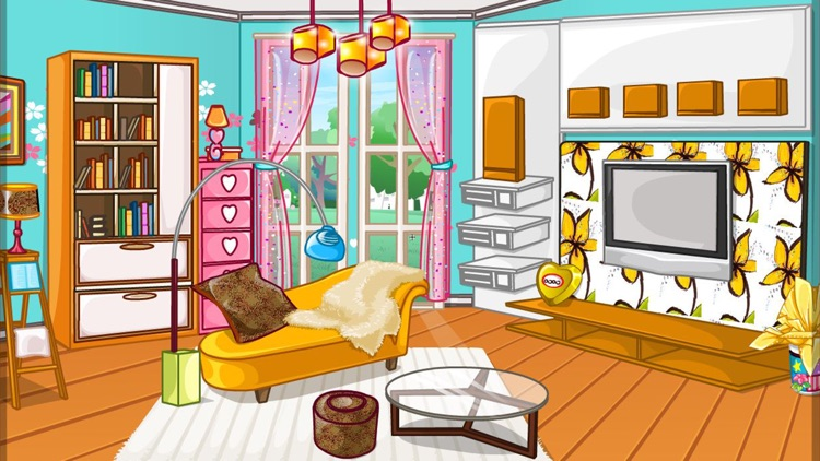 Girly room decoration game screenshot-6