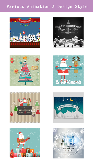 Animated Christmas Stickers - screenshot three