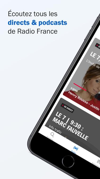 Radio France - direct, podcast