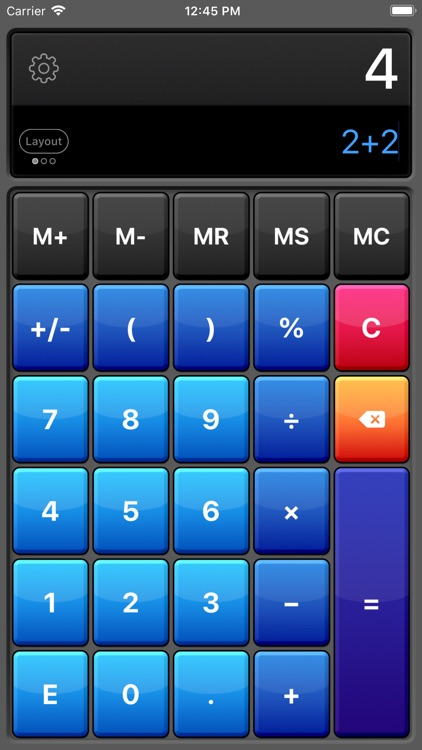 Calculator HD Pro screenshot-0