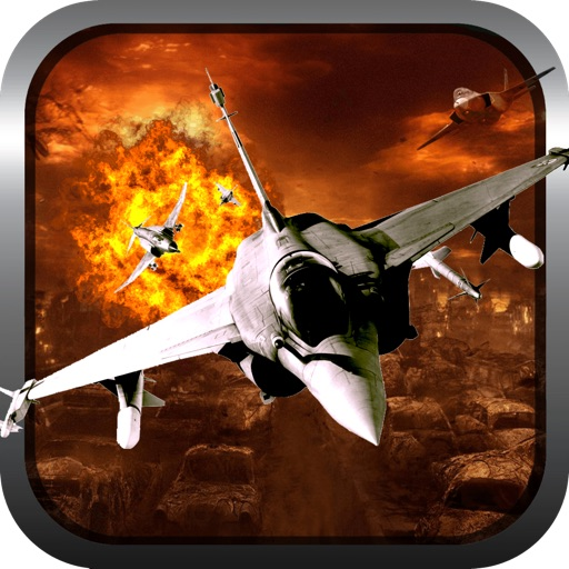 Tactical Fighter Jet X 3D Icon
