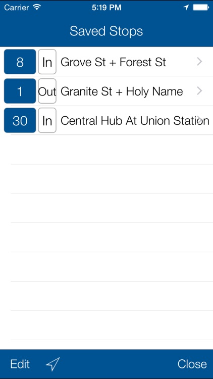 Transit Stop:WRTA Bus Tracker screenshot-2
