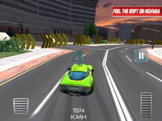 Racing Car:Smart City 2018 screenshot 5