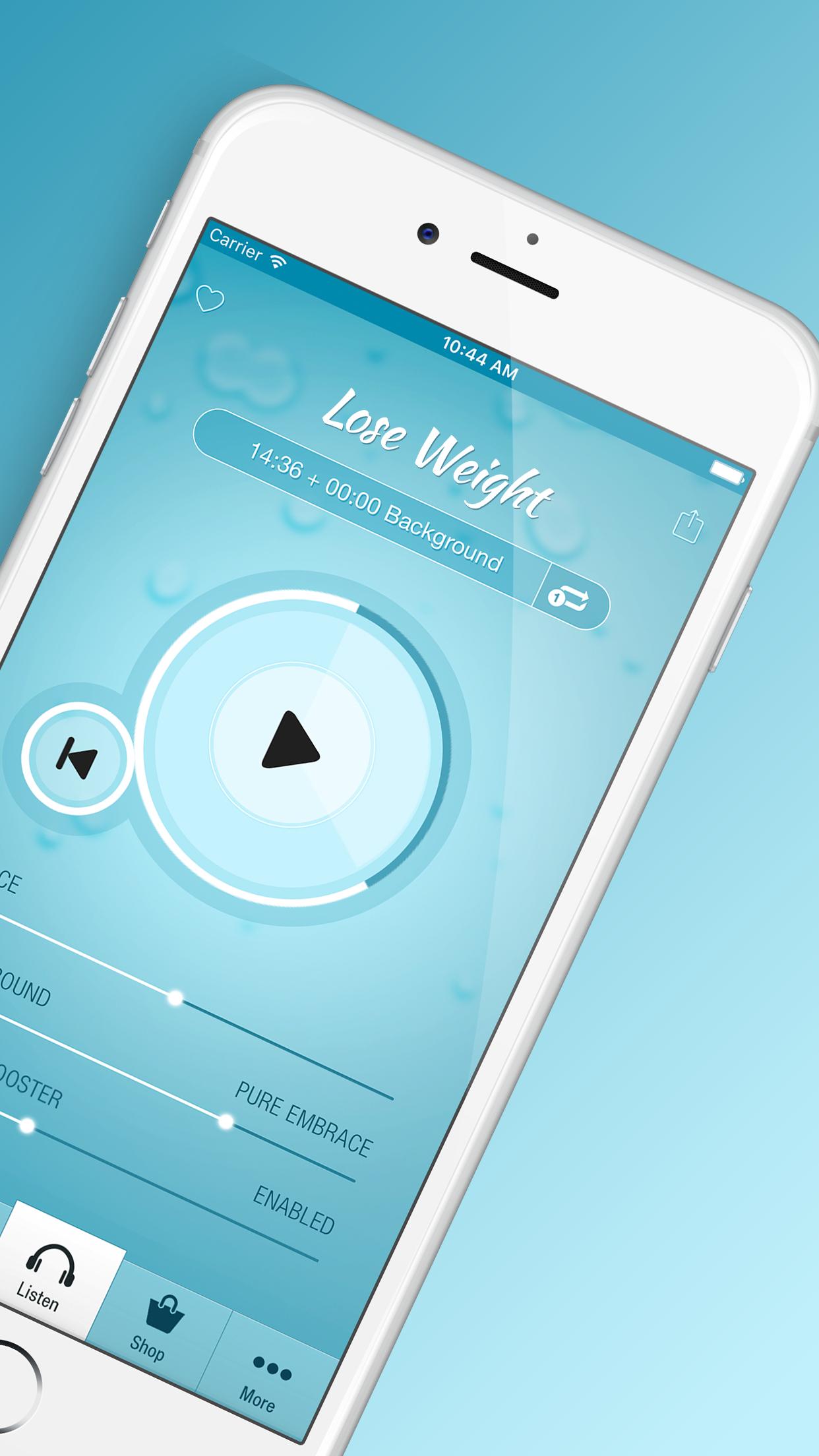 Lose Weight Hypnosis Screenshot