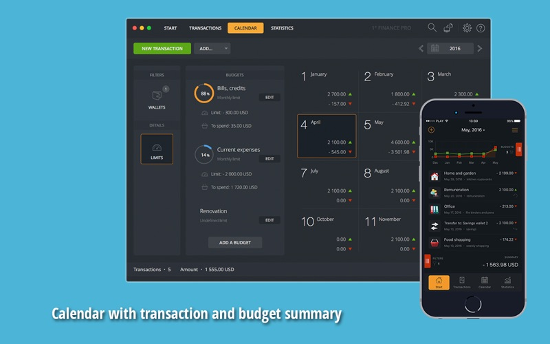 1° Finance Pro Screenshot